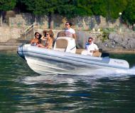 Motor yacht RIB Falkor 22 for rent in Baska Voda