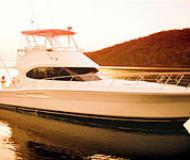 Motoryacht Riviera 42 for charter in Yacht Haven Marina Phuket