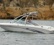 Motor boat Sea Ray 185 Bowrider available for charter in Lagos