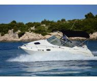 Motorboot Sea Ray 240 Sundancer Yachtcharter in Petrcane