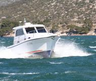 Motor yacht Sibenik 800 for rent in ACI Marina Trogir