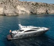 Motor boat Sunseeker 86 available for charter in Ibiza Town