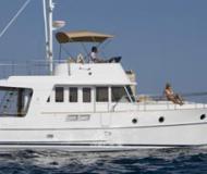 Motoryacht Swift Trawler 34 Yachtcharter in Marina Mandalina