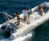Motor yacht Tempest 626 for rent in Marina de Lagos