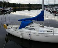 Sailing yacht Albin Viggen available for charter in Sabyvikens Marina