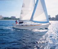 Segelboot Bavaria 36 Yachtcharter in Port Olimpic Marina