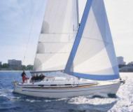Sail boat Bavaria 36 available for charter in Marina Baska Voda