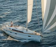 Sailing yacht Bavaria 41 Cruiser available for charter in Skiathos main Harbour