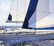 Sailing boat Bavaria 44 available for charter in Marina Kornati