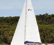 Segelboot Bavaria 45 Cruiser Yachtcharter in Marina Abel Point