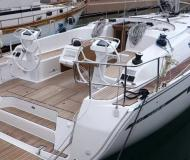 Sailing yacht Bavaria 46 Cruiser for rent in Rostocker Stadthafen