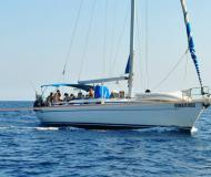 Sailing yacht Bavaria 50 for hire in Nettuno