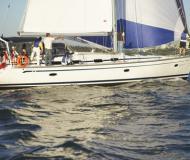 Segelyacht Bavaria 50 Cruiser Yachtcharter in Granville Insel Boatyard