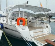 Sailing yacht Bavaria 50 Cruiser available for charter in Goecek
