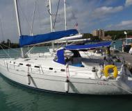 Yacht Cyclades 51.5 for hire in Marigot Bay Marina