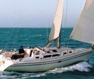 Sailing yacht Catalina 350 available for charter in Saint Petersburg