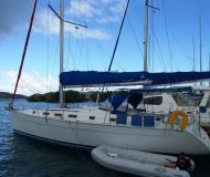 Yacht Cyclades 43.3 for charter in Manuel Reef Marina