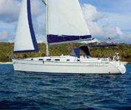 Yacht Cyclades 43.3 for rent in Petcharat Marina
