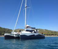 Sailing boat Diamante 555 available for charter in Portisco