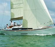 Sailing yacht Dufour 380 Grand Large for hire in Marina Frapa