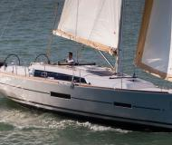 Yacht Dufour 382 Grand Large available for charter in Palm Cay Marina