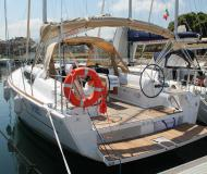 Sailing boat Dufour 382 Grand Large for hire in La Cala