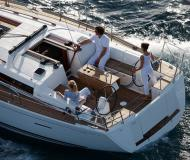 Yacht Dufour 405 Grand Large Yachtcharter in Hodges Creek Marina