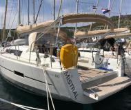 Sailing boat Dufour 410 Grand Large for charter in Primosten