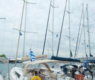 Sailing yacht Dufour 410 Grand Large for rent in Nikiti Marina