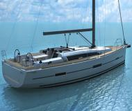 Sailing yacht Dufour 412 for charter in Port Louis Marina