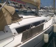 Yacht Dufour 460 Grand Large for charter in Trapani Yacht Harbour