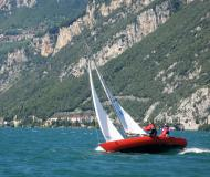 Sailing yacht Dyas for hire in Malcesine
