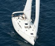 Sailing boat Elan 384 Impression for charter in Marina Kroeslin