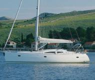 Sail boat Elan 434 Impression for hire in Port Olimpic Marina