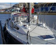Sailing boat Ovni 445 available for charter in Longyearbyen Marina