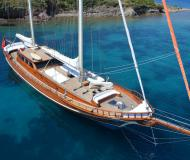 Yacht Gulet available for charter in Bodrum
