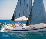 Hallberg Rassy 37 Sailboat for rent Fehmarn
