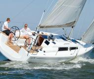 Sailing boat Hanse 315 available for charter in Hyeres