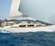 Sailing yacht Hanse 345 available for charter in Les Marines de Cogolin