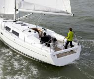 Yacht Hanse 375 for rent in Ece Saray Marina