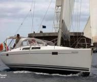 Sailing yacht Hanse 385 available for charter in Horta