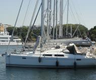 Sailing boat Hanse 385 available for charter in Pula