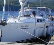 Sailing yacht Hanse 400 for hire in Road Harbour