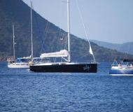 Sailing yacht Hanse 445 for rent in Nanny Cay Marina
