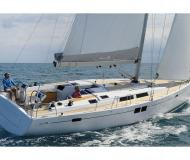 Sailing yacht Hanse 505 for hire in Les Marines de Cogolin