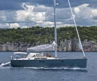 Yacht Hanse 540 available for charter in Kastela