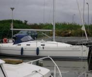 Yacht Harmony 34 for hire in Yerseke Harbour