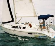 Sail boat Hunter 290 available for charter in Fort Myers