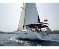 Sailing boat Jeanneau 53 for hire in Marmaris