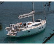 Yacht Jeanneau 54 available for charter in Volos Harbour